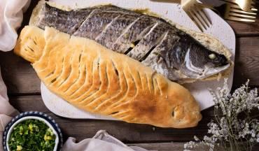 תעשימה ברמונדי (דג עטוף בבצק)